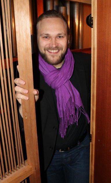 Der Kammerchor Vocaliter, neu unter der Leitung von Fabian Bamberg